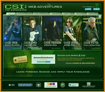 CSI: The Experience