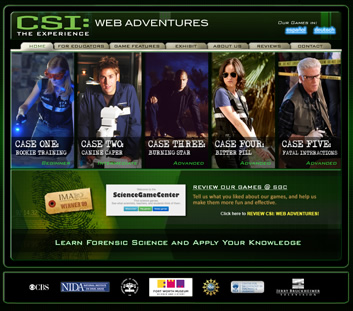 Image result for csi web adventures